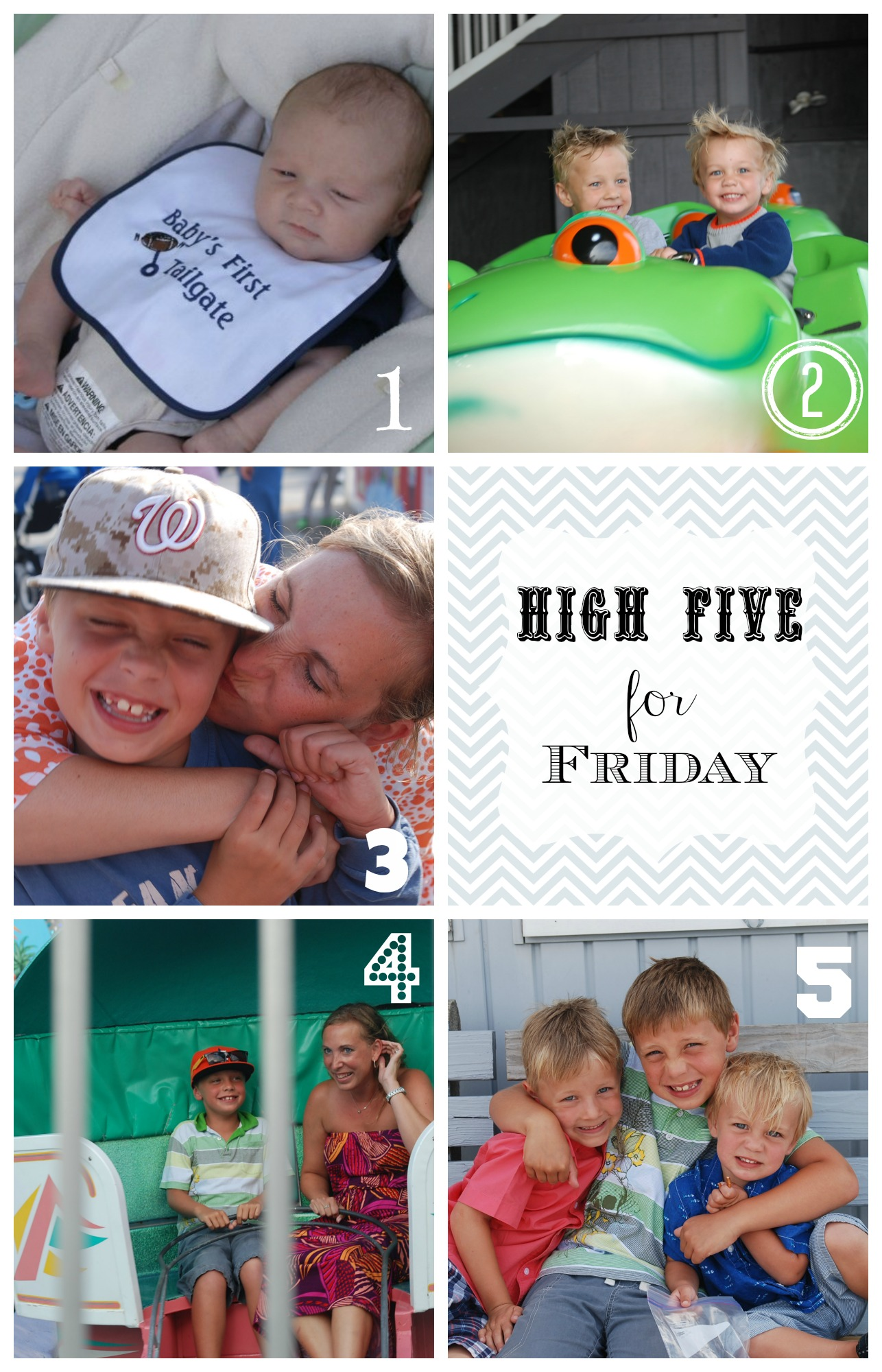 High Five for Friday 8-16