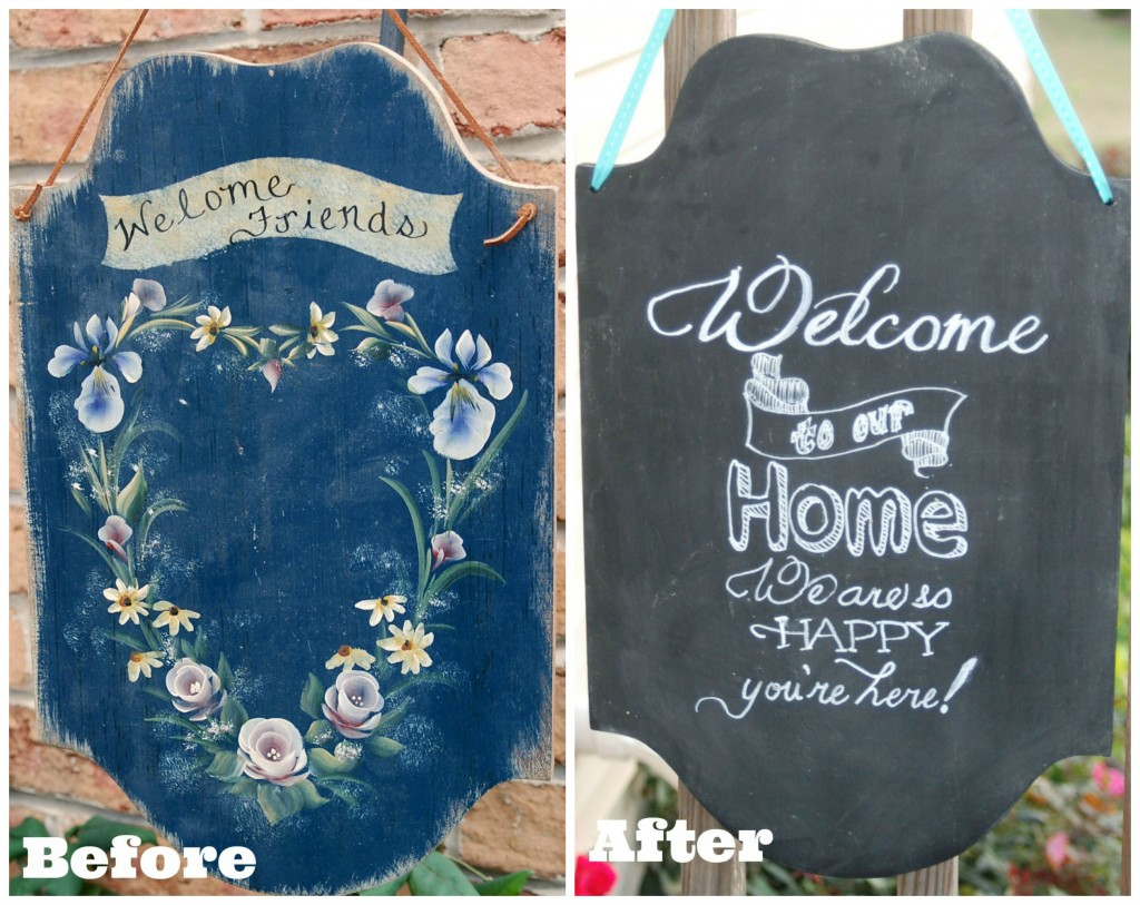 Faux Chalkboard Sign from Endlessly Inspired