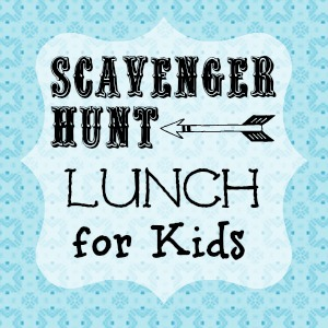 Scavenger Hunt Lunch for Kids from Endlessly Inspired