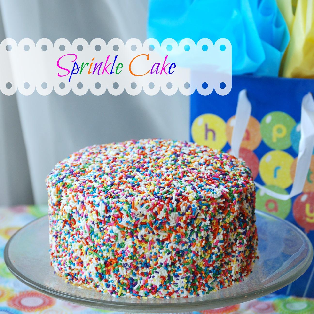 Tremendous Sprinkle Cake Endlessly Inspired Personalised Birthday Cards Veneteletsinfo