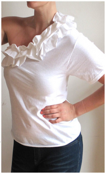 10 amazing t-shirt refashion tutorials
