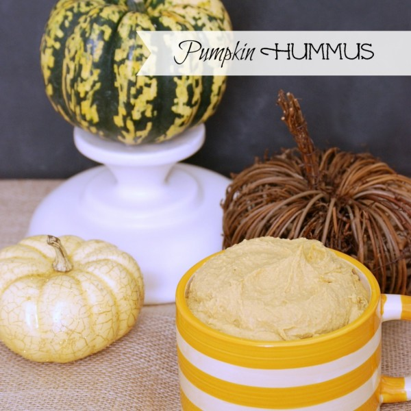Learn how to make homemade pumpkin hummus -- perfect for tailgates and fall parties!