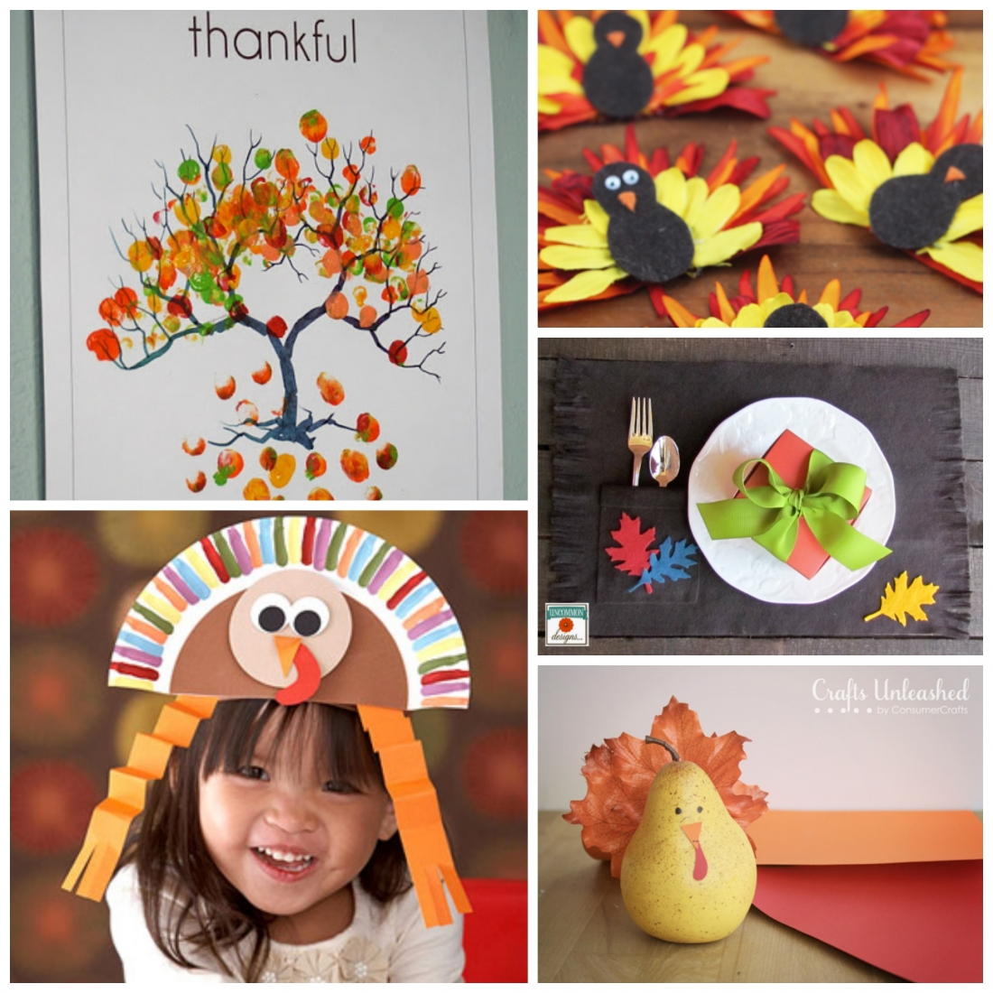 The ultimate thanksgiving ideas collection endlessly for Thanksgiving craft ideas for kindergarten
