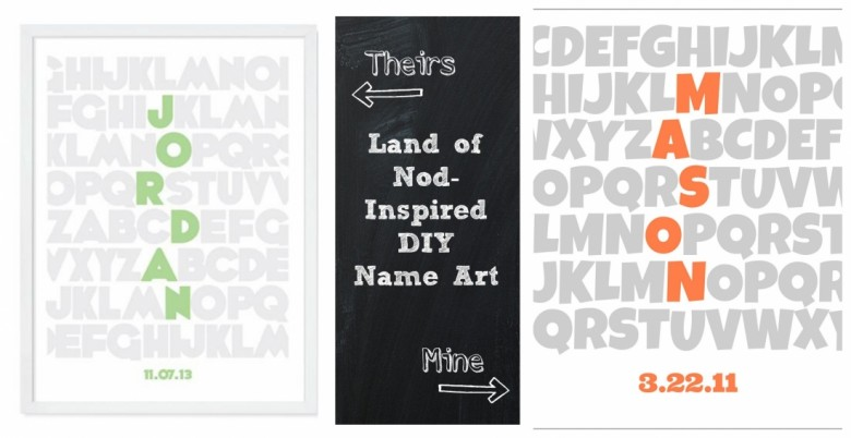 Make Land of Nod-inspired personalized wall art with free online photo editing software