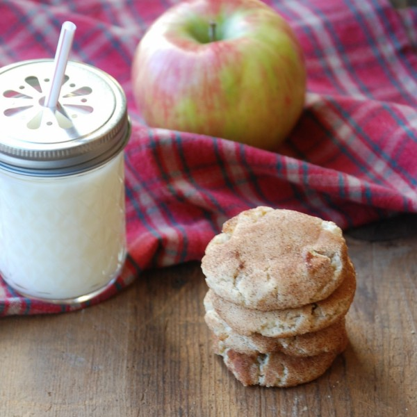 Apple Pie Snickerdoodles -- Didn't think it was possible to make my favorite cookie even better, but clearly I was wrong.