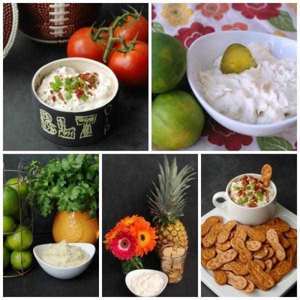 50 delicious dip recipes! There are both savory and sweet ones, so you'll be sure to find the perfect one for your party or tailgate! Definitely using some of these for Super Bowl!