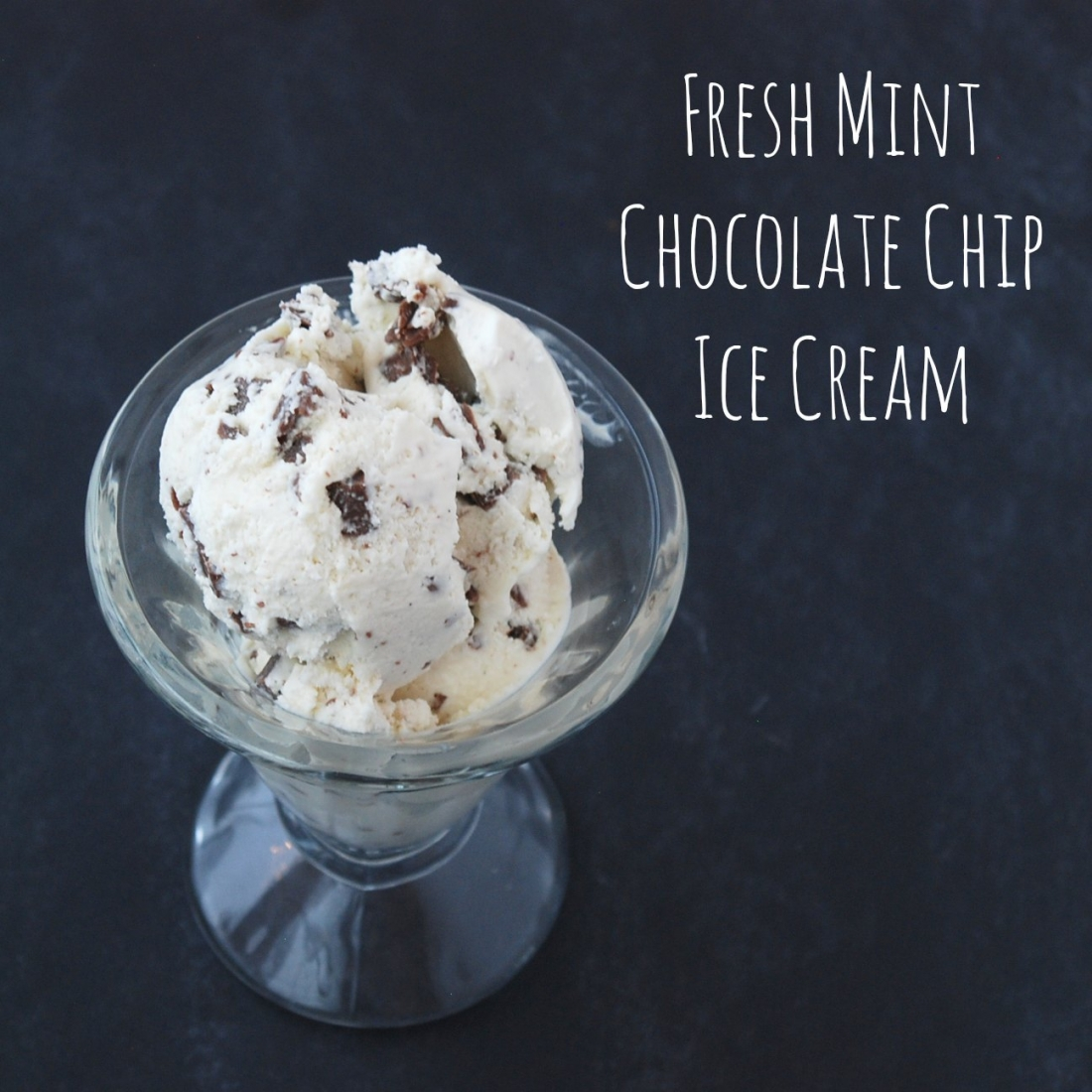 Fresh Mint Chocolate Chip Ice Cream Endlessly Inspired