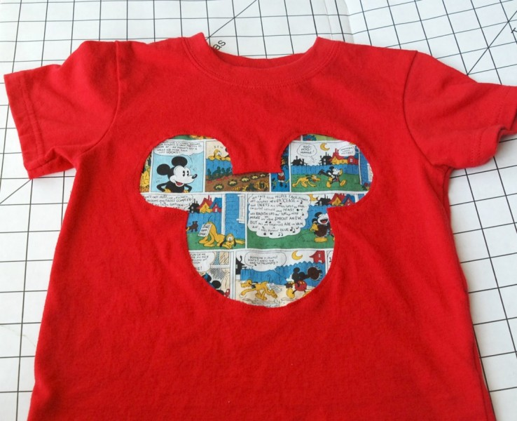 Learn how to make a reverse applique shirt -- the possibilities are endless!