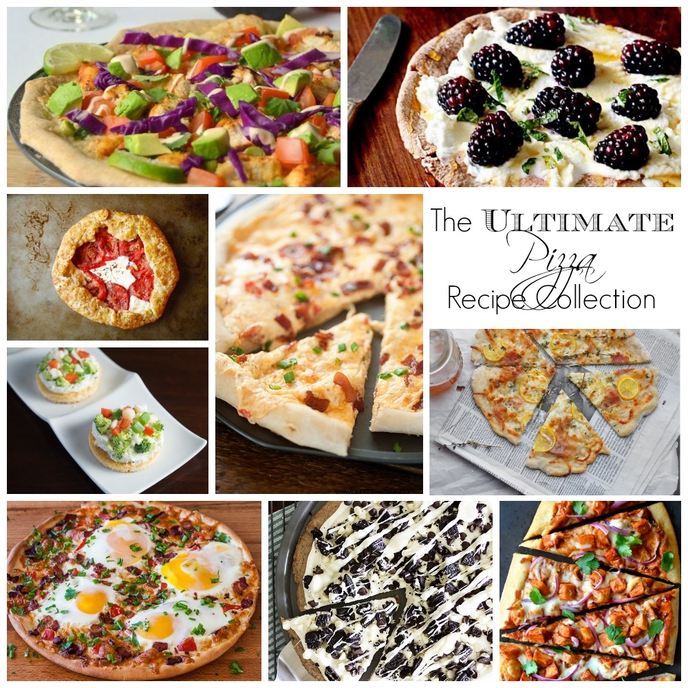 The Ultimate Pizza Recipe Collection -- 60 of the most amazing, mouthwatering pizza recipes ever.