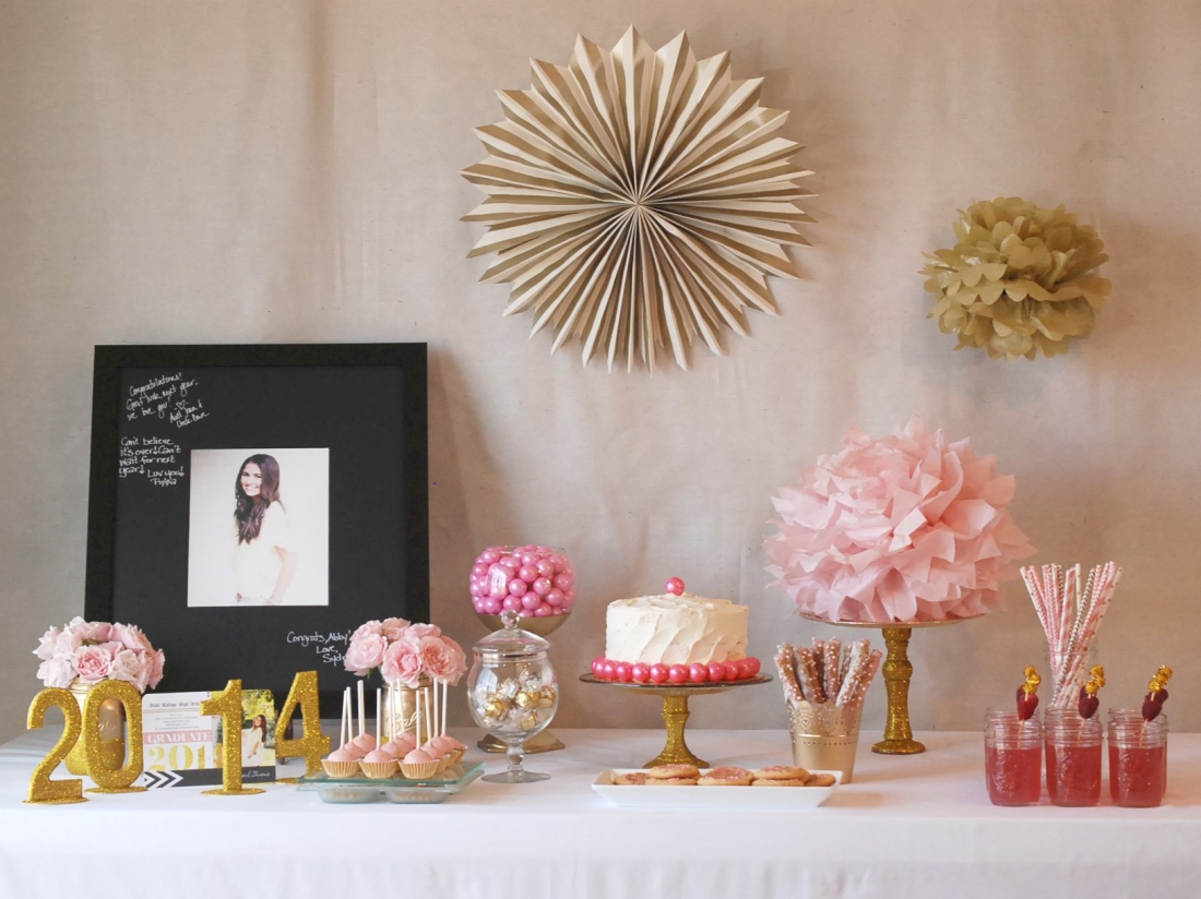 Tiny Prints-Inspired Graduation Party | Endlessly Inspired