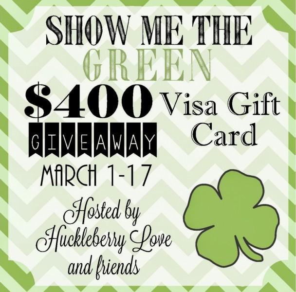 Enter to win a $400 Visa Gift Card!!