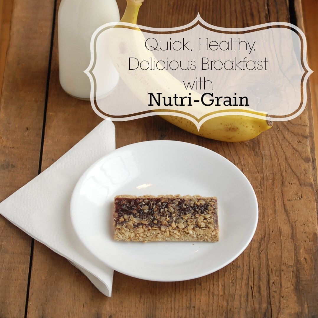 Have a healthy, delicious breakfast on the go with Kellogg's® Nutri-Grain® Fruit & Oat Harvest Cereal Bars