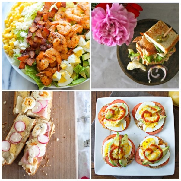An amazing collection of 20 recipes that all used hard boiled eggs. No deviled eggs or egg salad in the bunch!