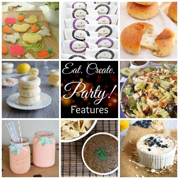 Eat. Create. Party! Features