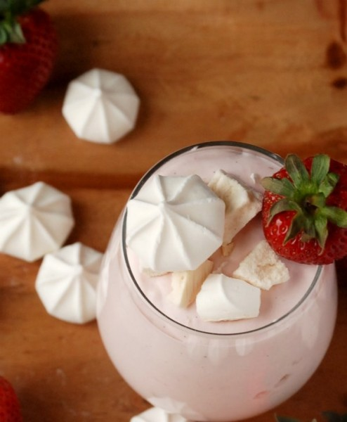 Eton Mess -- A no-cook, no-bake dessert with strawberries, whipped cream and meringues. Delicious!
