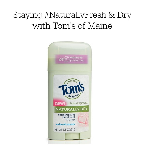 Staying dry naturally with Tom's of Maine while training for a half marathon. #FreshNaturally #cbias #shop