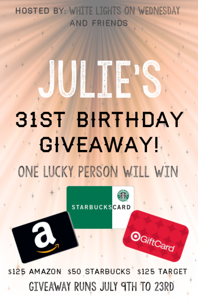 31st Birthday Giveaway