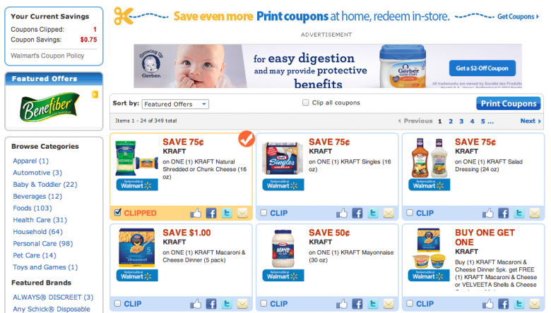 Use printable digital coupons at Walmart to make an amazing 5-Cheese Macaroni & Cheese! #PackedWithSavings #cbias #shop