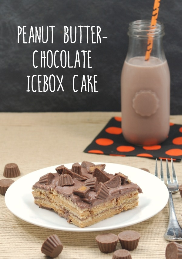 Peanut Butter-Chocolate Snack Pack Pudding Cup Icebox Cake {31 Days of ...