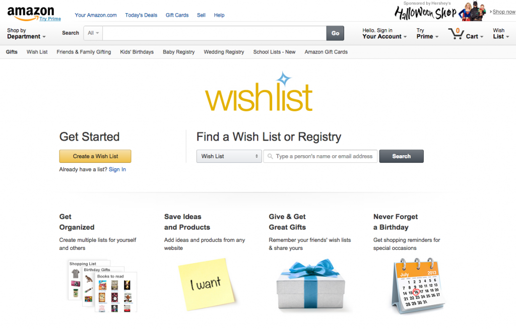 Amazon's new #AmazonWishlist feature makes giving and requesting gifts easier than ever!  Add items to your wishlist directly from Twitter! #AmazonHasIt #CollectiveBias