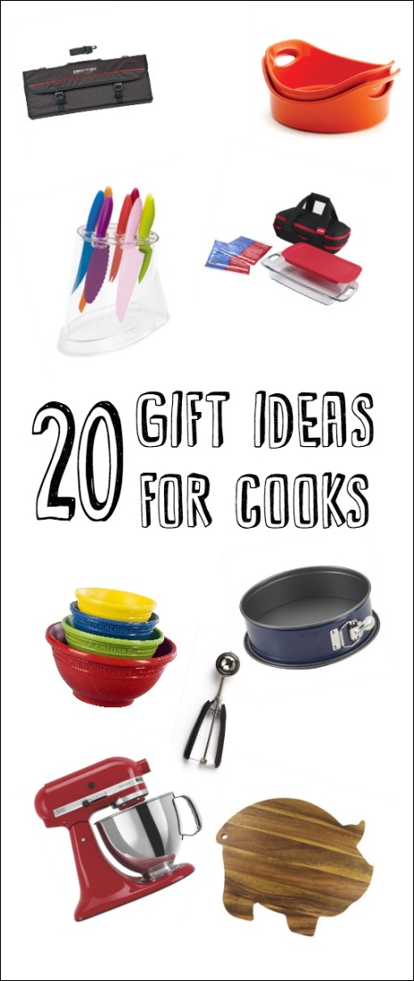If you're looking for a gift for a food lover, check out this list of kitchen must-haves. Pin now, read later!