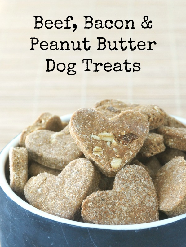 Beef Bacon Peanut Butter Dog Treats Endlessly Inspired