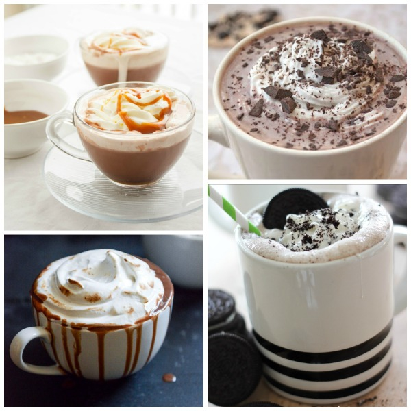 Nothing warms you up on a freezing winter's day like a steaming mug of hot chocolate! You will not believe some of the recipes in this collection of 20 Amazing Hot Cocoa Recipes!