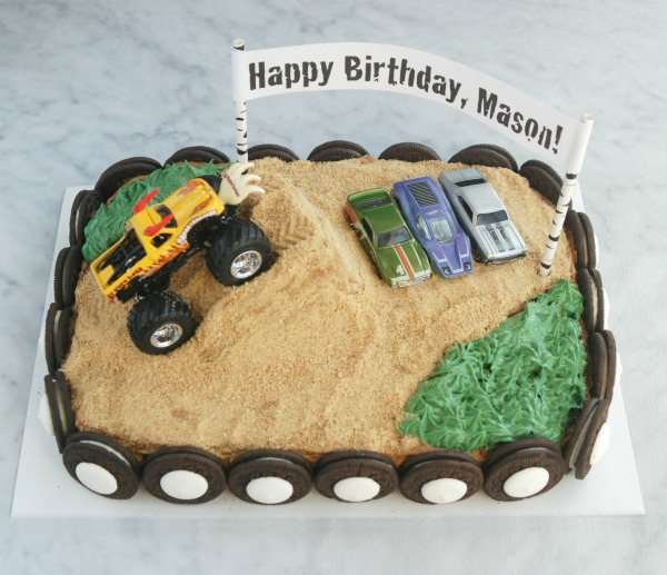 Magnificent Easy Monster Truck Birthday Cake Endlessly Inspired Funny Birthday Cards Online Fluifree Goldxyz