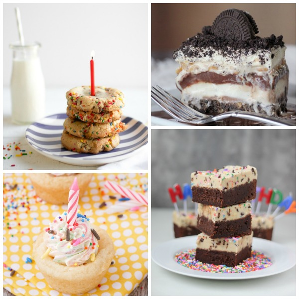 Looking for a different kind of birthday treat to serve at your next party? Check out this collection of 20 birthday cake and cupcake alternatives!