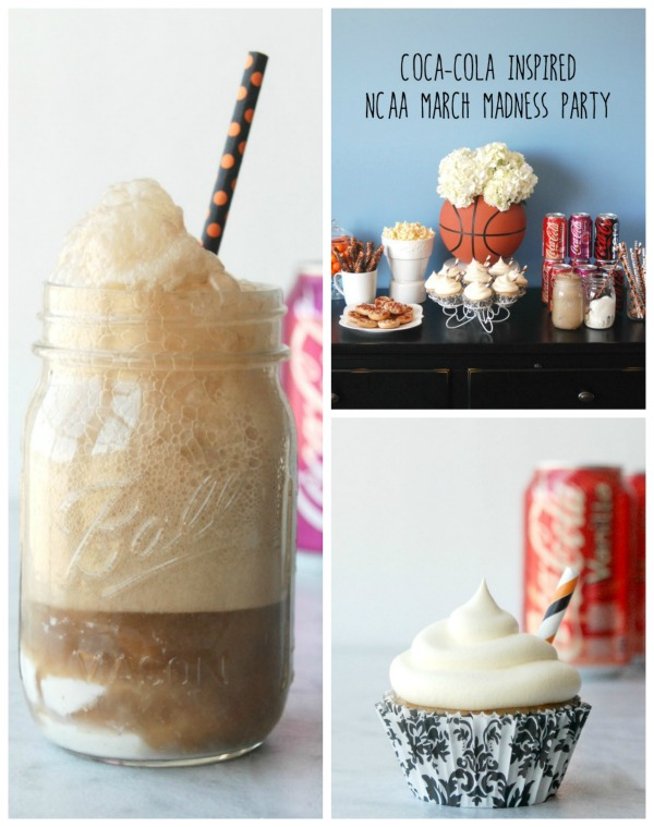 Throw together a fun basketball party with Coca-Cola NCAA® Final Four Packs available at Walmart. There are a bunch of cute ideas and recipes in here!