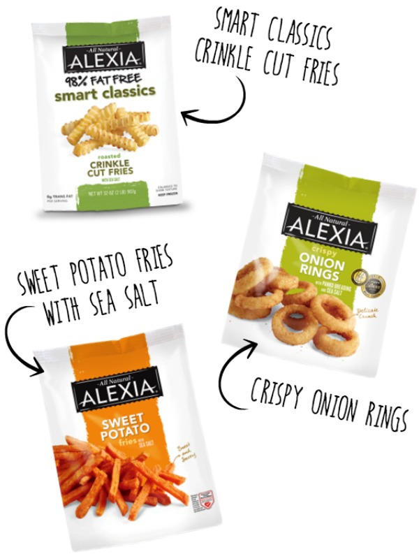 Use frozen Alexia fries and onion rings to make loaded baked potato fries. #SpringIntoFlavor #ad