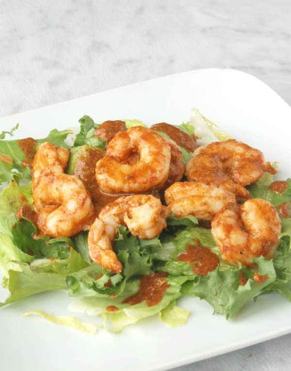 These spicy shrimp are so delicious and easy to make -- and they're super healthy, too! And as a bonus, they work for the 21 Day Fix!