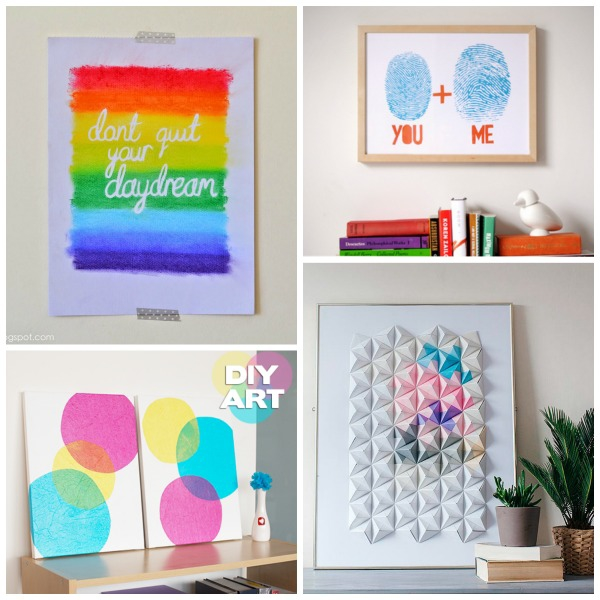 40 Diy Wall Art Ideas Endlessly Inspired