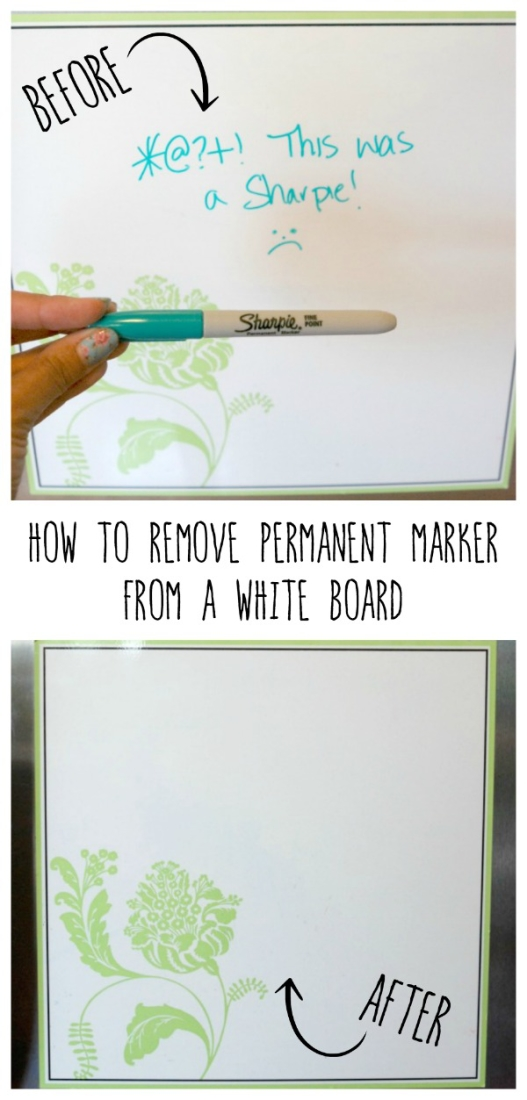 how to remove permanent marker from a dry erase board endlessly inspired. Black Bedroom Furniture Sets. Home Design Ideas