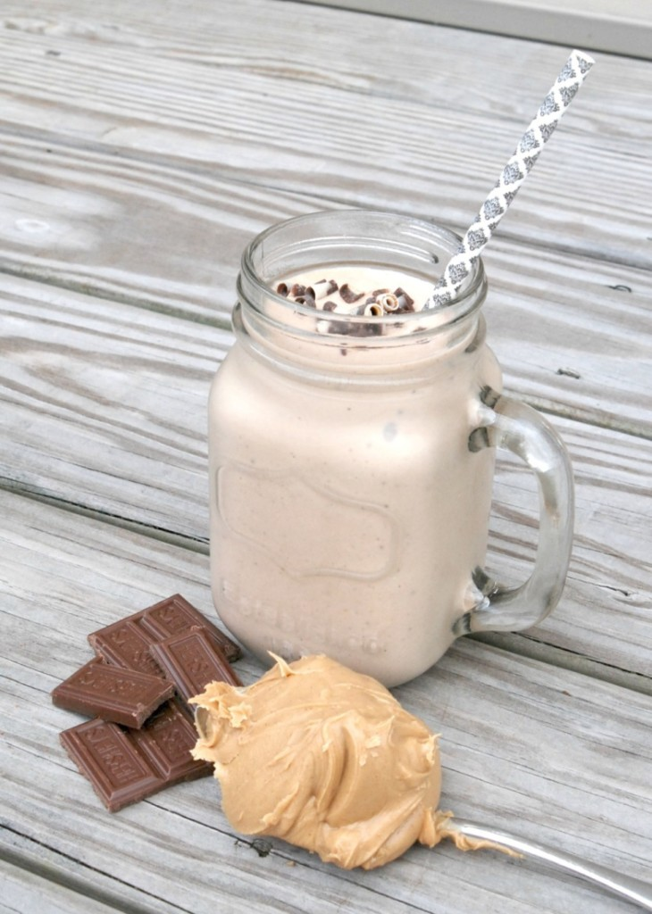 This peanut butter cup protein shake is almost too delicious to believe that it's good for you -- but it is!