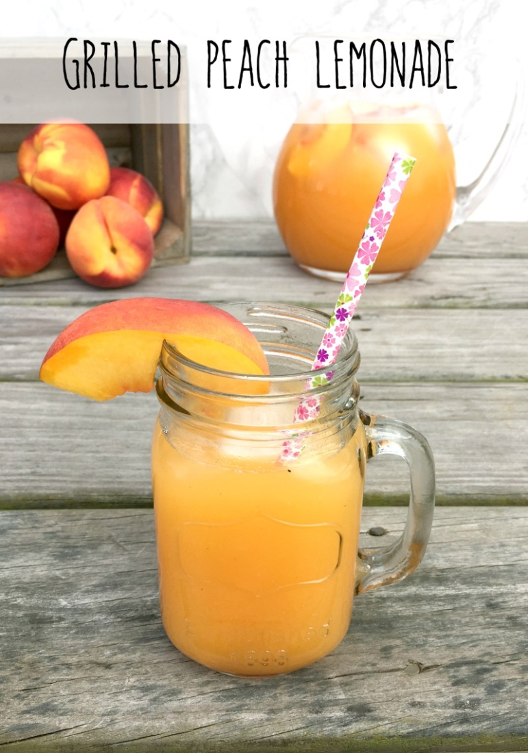If you thought peaches couldn't get any better, try grilling them and adding them to some Simply Lemonade! #AlwaysDelicious
