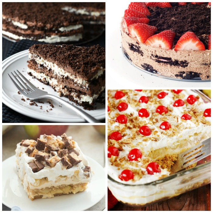 Icebox cakes are a great quick and easy no-bake dessert. This is a collection of 20 amazing icebox cake recipes!