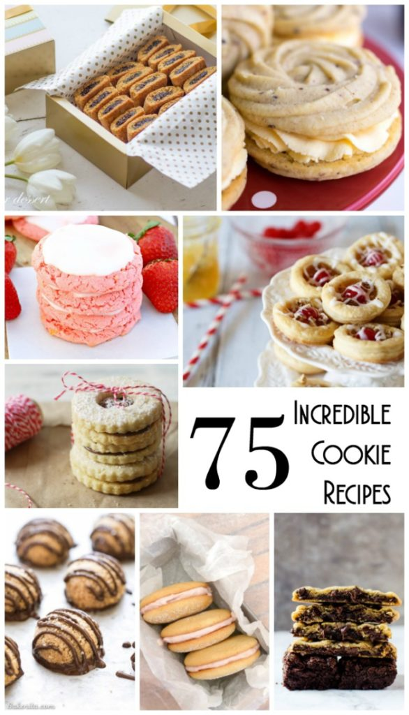 In honor of National Homemade Cookie Day on October 1, here is a collection of 75 incredible cookie recipes!