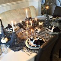 Spooky Halloween tablescape