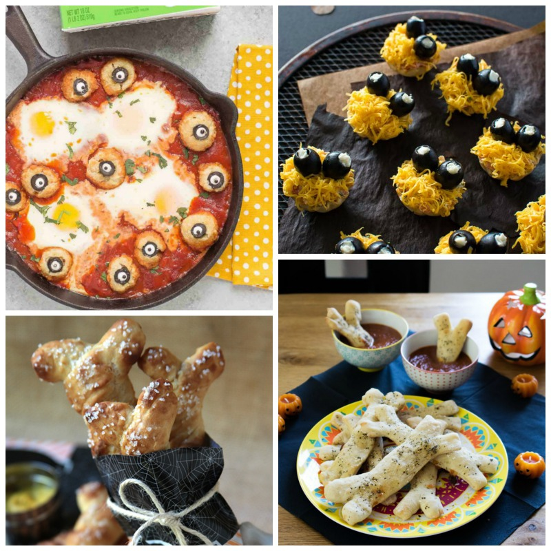 Desserts aren't the only thing that can be cute at Halloween -- check out these adorable savory snacks!